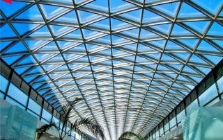 ứng dụng tấm poly lợp mái lấy sáng
