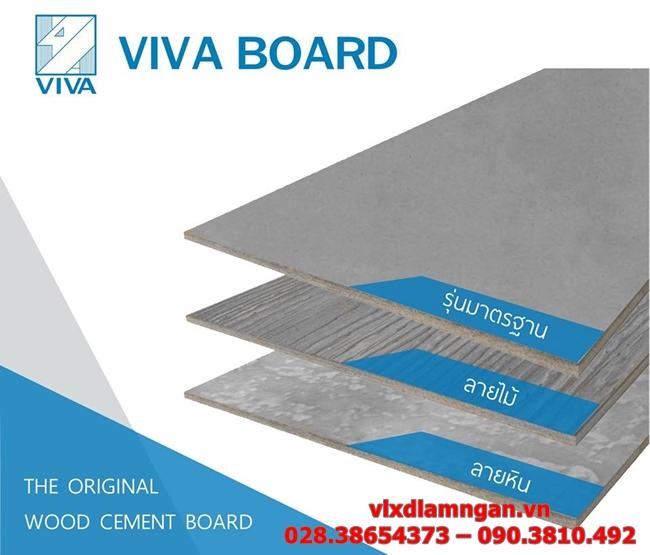 tấm xi măng Vivaboard Thái Lan
